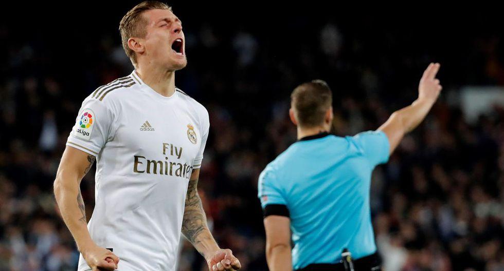 Toni Kroos (Real Madrid) alcanzó los 87.9 puntos. (Foto:  EFE/Chema Moya)