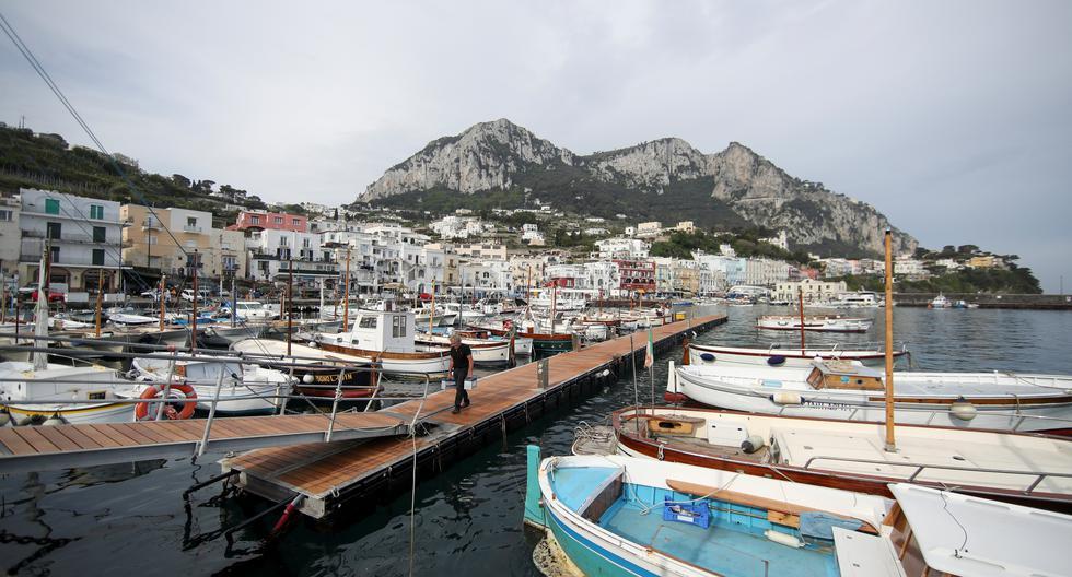 Capri, a new coronavirus-free island in Italy
