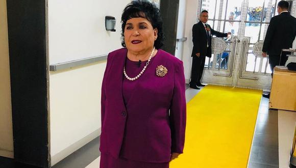 Carmen Salinas se disculpa con la Embajada de China por polémico comentario sobre coronavirus (Foto: Instagram)