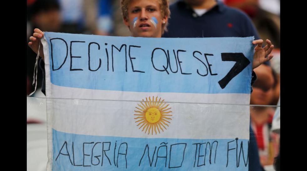 Holanda vs. Argentina: recuerdan goleada a Brasil en las gradas - 1
