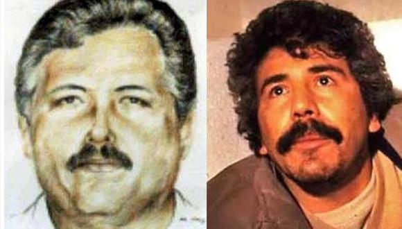 Ismael Zambada García y Rafael Caro Quintero. (Twitter)
