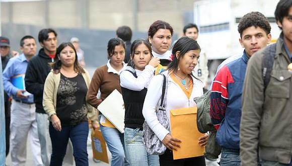 Con el  nuevo certificado único laboral se busca promover la inserción de los jóvenes en el mercado laboral, dijo el titular del MTPE. (Foto: USI)