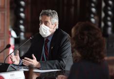 """Ejecutivo rechaza que en gestión de Sagasti se haya solicitado """"adquisiciones indebidas"""""""