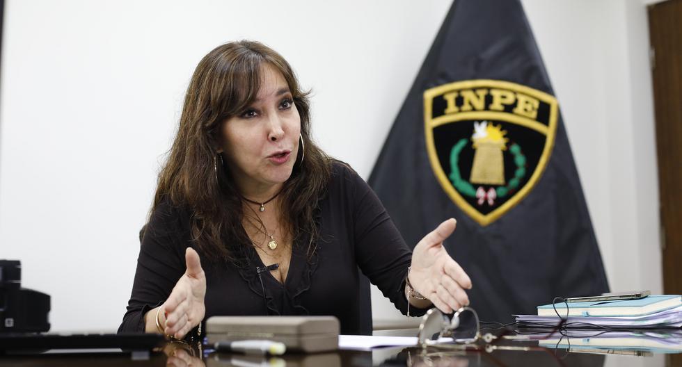 Desde septiembre del año pasado, Silva Hasembank Susana está a cargo del INPE como presidenta del Consejo Nacional Penitenciario. (Foto: César Bueno)