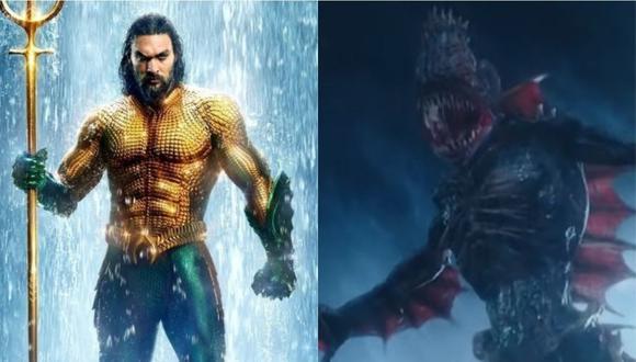 """""""Aquaman"""" tendría un spin off basado en los monstruos de """"The Trench"""". (Foto: Warner Bros.)"""