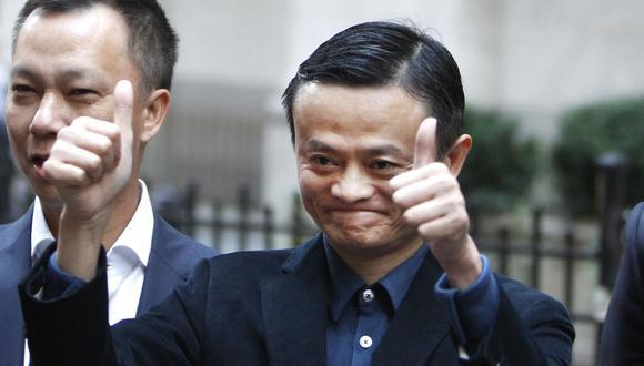 Jack Ma es el cofundador del grupo Alibaba y uno de los hombres más ricos de China. (Foto: AP)