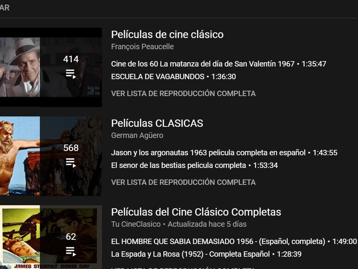 Peliculas en espanol subtituladas youtube Dónde ver