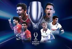 Bayern - Sevilla: alemanes ganaron la Supercopa de Europa con gol de Javi Martínez