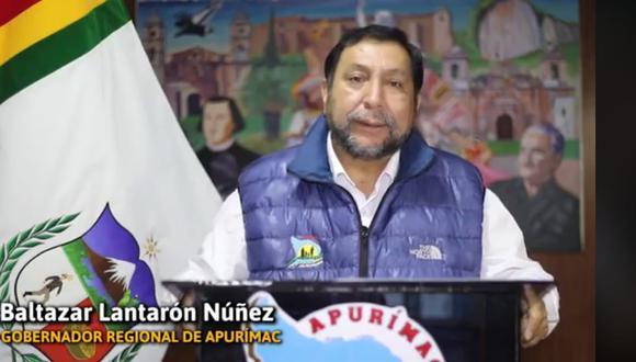 Gobernador regional dio detalles de las medidas sanitarias por medio de la redo social de la institución. (Foto: Facebook)