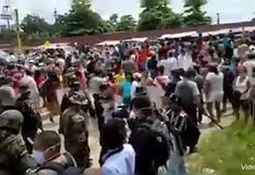 Ucayali: internos del penal de Pucallpa realizan protesta para exigir pruebas rápidas de COVID-19 | VIDEO