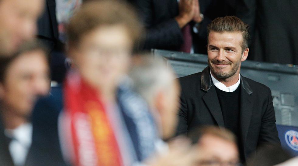 David Beckham, Jay-Z y Beyonce disfrutan del PSG-Barcelona - 9
