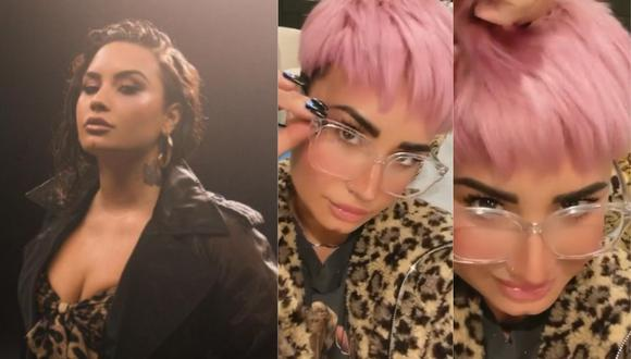 Demi Lovato y su radical cambio de look con el que sorprendió a sus fans. (Foto: ddlovato)