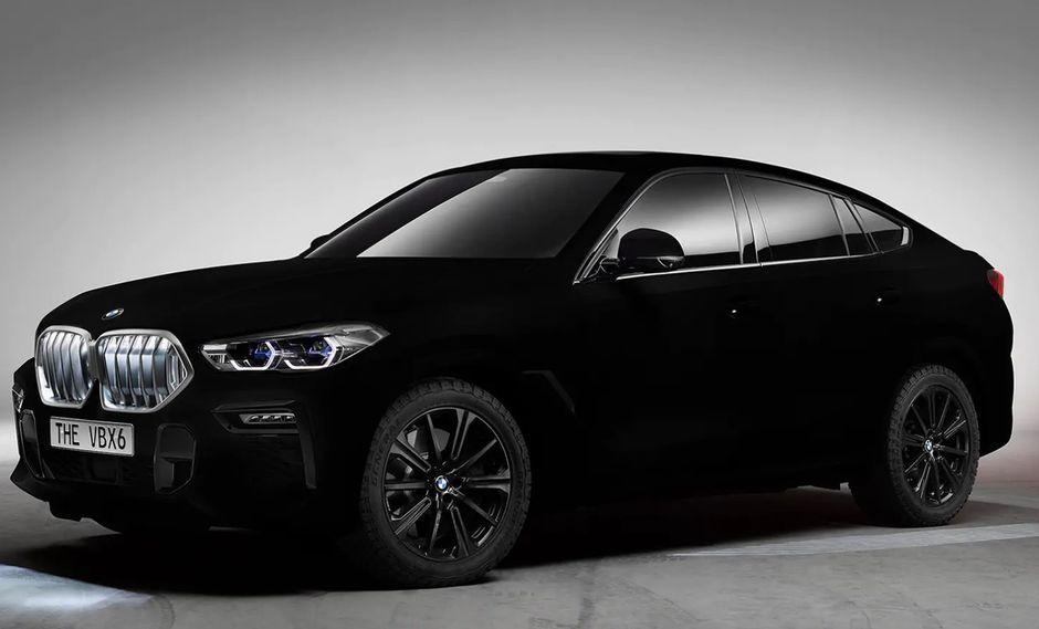 El primer ejemplar utilizado para esta prueba fue el BMW X6. El diseño final será mostrado en el Salón de Frankfurt. (Foto: BMW).