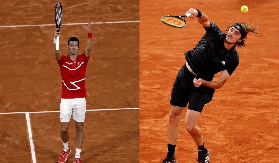 Roland Garros: Novak Djokovic y Stefanos Tsitsipas clasificaron a los cuartos de final | Fotos: Agencias