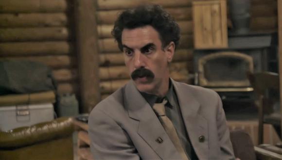 """Sacha Baron Cohen en una de las escenas de """"Borat 2"""", donde el periodista kazajo regresa a Estados Unidos para un negocio turbio. (Foto: Amazon Prime Video)"""
