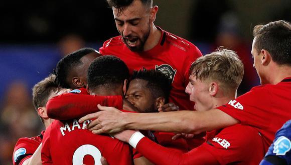 Manchester United vs. Brujas protagonizan el partido más importante de hoy,  jueves 20 de febrero. (AFP)