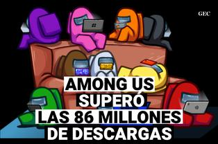 Among Us llegó a los 86 millones de descargas en dispositivos android e ios