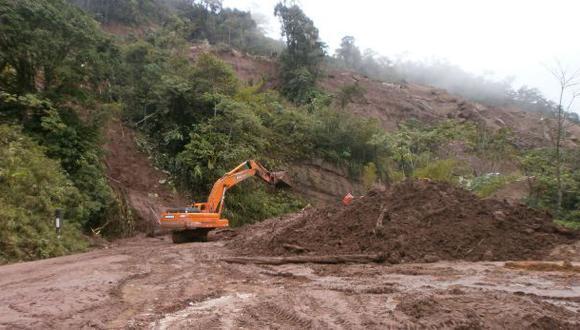 Amazonas: carretera IIRSA Norte permanece bloqueada