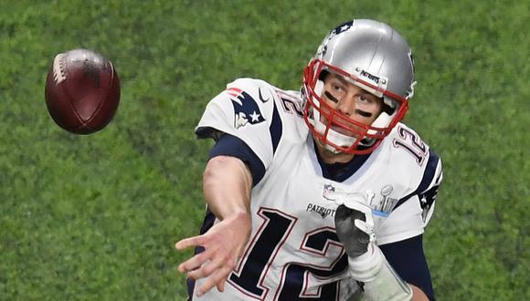 """Tom Brady y unas reveladoras confesiones: """"Me divertí mucho jugando en high school y fumando hierba ocasionalmente""""   Foto: AFP"""