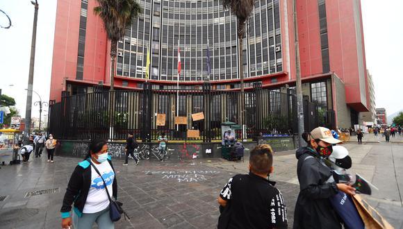 Por tercera vez, fue destruido el memorial de Inti y Bryan colocado en la avenida Abancay. (Foto: HugoCurotto / @photo.gec)