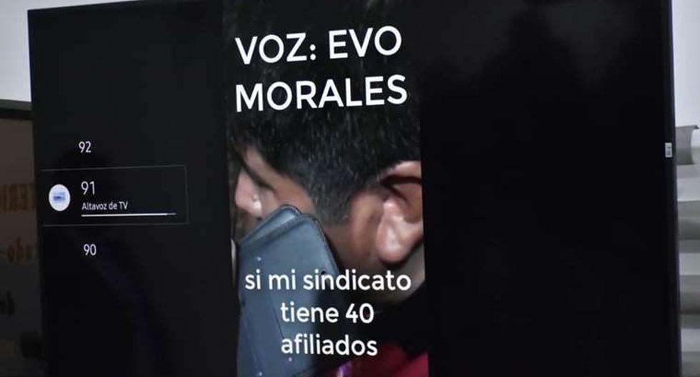 El ministro interino de Gobierno de Bolivia, Arturo Murillo, presentó este miércoles una grabación de audio que le atribuye al expresidente Evo Morales, donde un hombre instruye a un dirigente cocalero a sitiar las ciudades y cortar el suministro de alimentos.