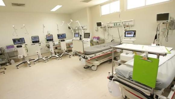 Ica: Habilitan UCI Referencial en Hospital Regional de Ica para atender a eventuales pacientes graves con coronavirus. (Foto:GORE)