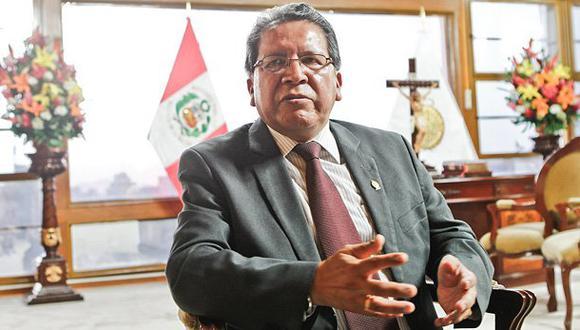 Pablo Sánchez jura hoy como fiscal de la Nación