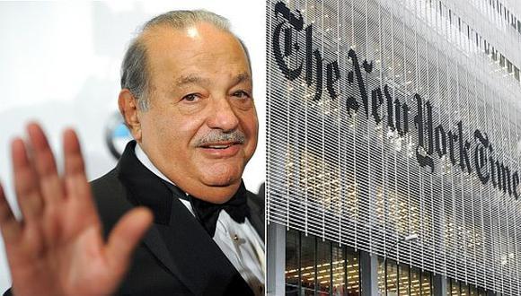 Carlos Slim se convierte en mayor accionista del New York Times