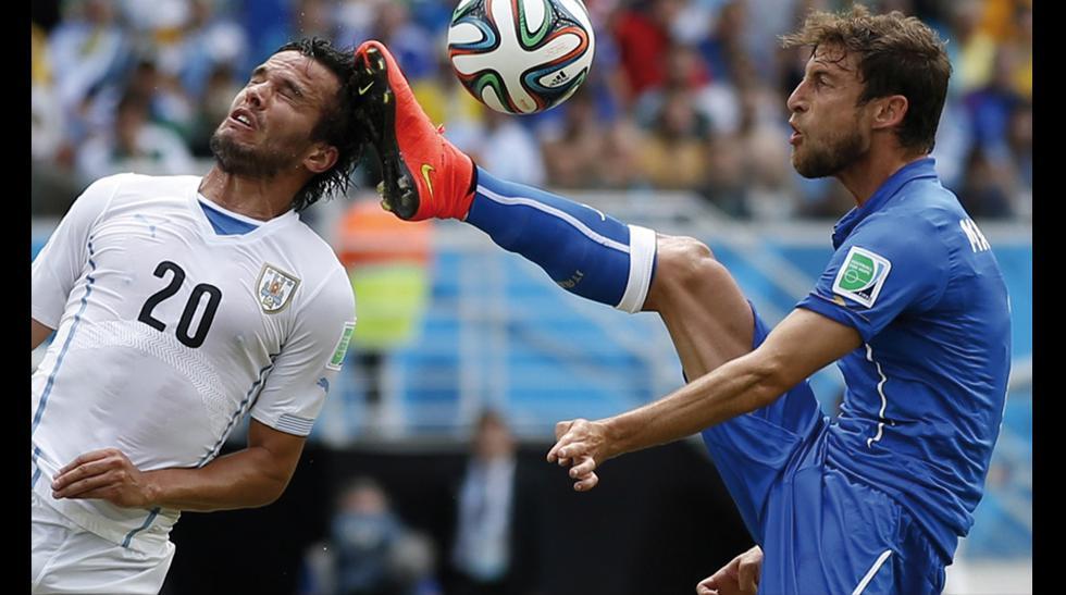 Italia vs. Uruguay: un duelo muy luchado y de pura garra - 1