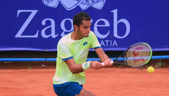 Juan Pablo Varillas ha jugado nueve torneos este año y ha ganado un título. (Foto: Zagreb Open)
