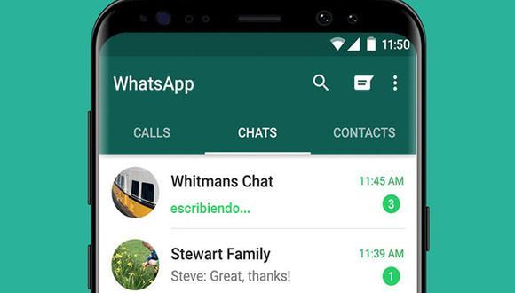 """¿Quieres ocultar que estás """"escribiendo"""" en WhatsApp? Entonces realiza este sencillo truco. (Foto: WhatsApp)"""
