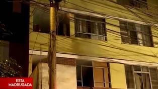La Victoria: Bomberos controlan incendio provocado por aparente cortocircuito