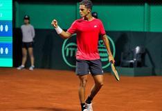 Juan Pablo Varillas clasificó a la final del ATP Challenger Tour de Ambato