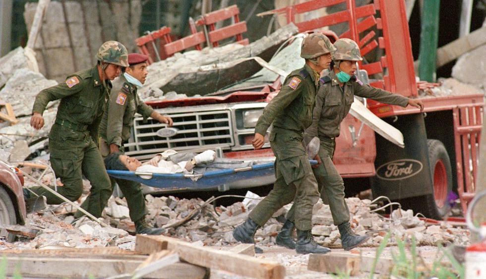Hace 34 años un devastador terremoto causó conmoción en México. (Foto: AFP)
