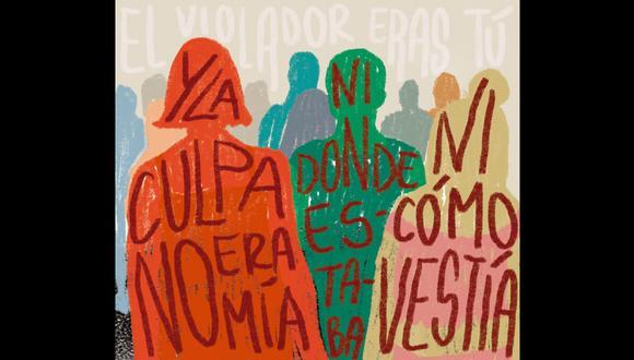 La culpa no es mía, la columna de Lorena Salmón. (Ilustración: Nadia Santos)