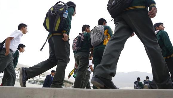 Minedu informó que se evalúa alternativas ante  eventual reapertura en los colegios en algunas zonas del país. (Foto: GEC)