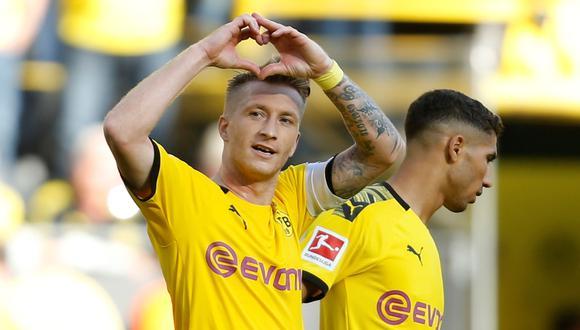 Marco Reus, figura del Borussia Dortmund. (Foto: AFP)