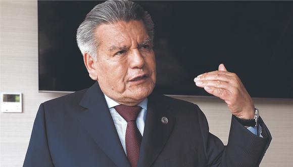 """""""Se gobierna con planes, objetivos y equipos. Necesitamos soluciones para la pandemia, la economía y el desempleo"""", señaló César Acuña. (Foto: El Comercio)"""