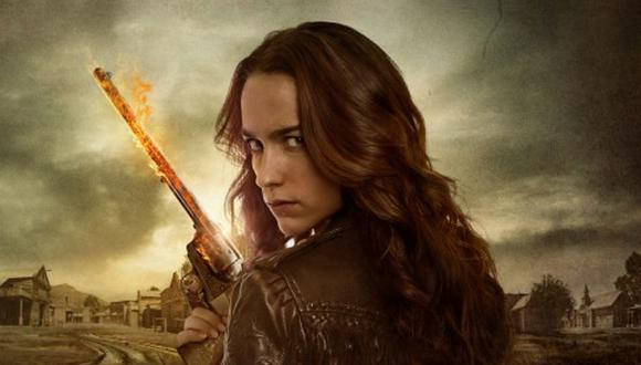 Melanie Scrofano interpreta a Wynonna Earp en la cuarta temporada de la serie (Foto: Syfy)