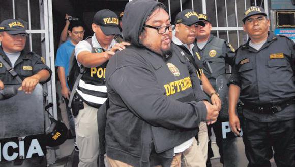 La Policía allanó 20 casas para la captura de los integrantes de la mafia (Foto: Kelvin García)