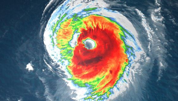 Huracán Larry amenaza con corrientes de resaca a las costas de Estados Unidos y Canadá. (@weatherchannel).