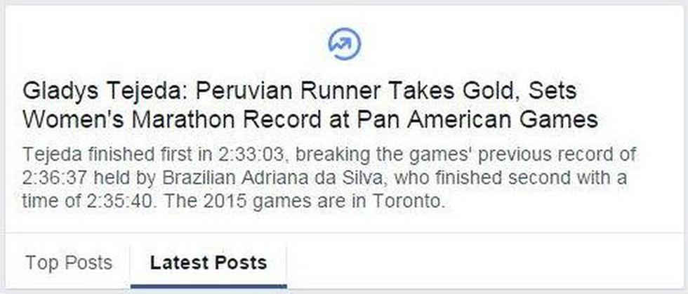 Twitter: Gladys Tejeda, medalla de oro y tendencia mundial - 2