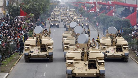 El 29 de julio suele celebrarse la Parada MIlitar. (Foto: GEC)