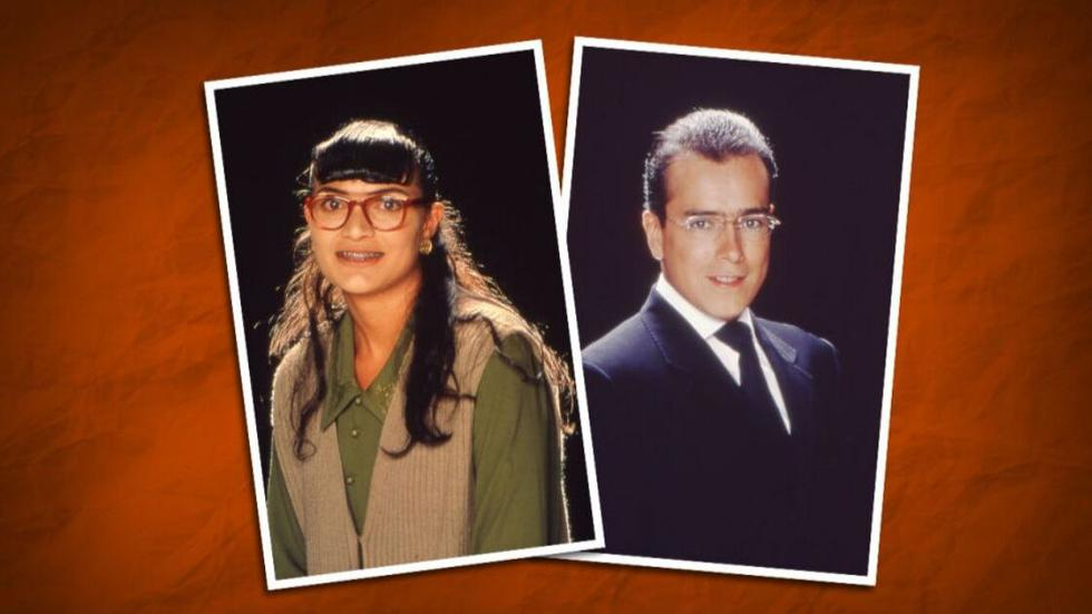 Ana María Orozco y Jorge Enrique Abello. (Foto: Betty, la fea)
