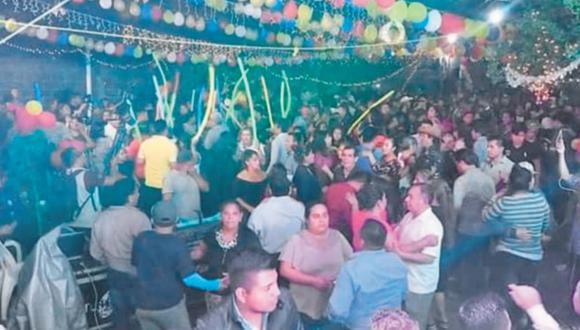 El 5 de enero, el municipio mexicano de San Juan del Río celebró al Divino Niño Jesús sin mascarillas ni sana distancia. Hoy la mitad de la población tiene coronavirus.
