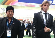 "Edwin Oviedo agradece ""respaldo unánime"" de la Junta Directiva de la FPF para renovar con Ricardo Gareca"