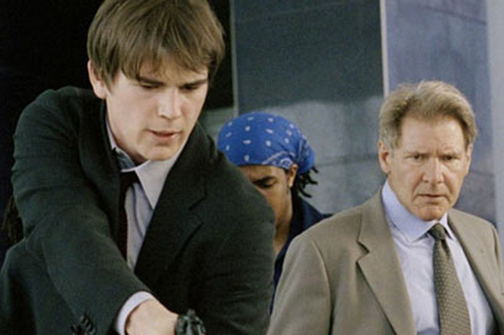 """Josh Hartnett and Harrison Ford in """"Hollywood: Department of homicides"""" (Photo: Columbia Pictures)"""