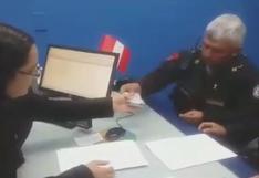Twitter: suboficial de Trujillo devuelve 3 mil soles que encontró en un cajero