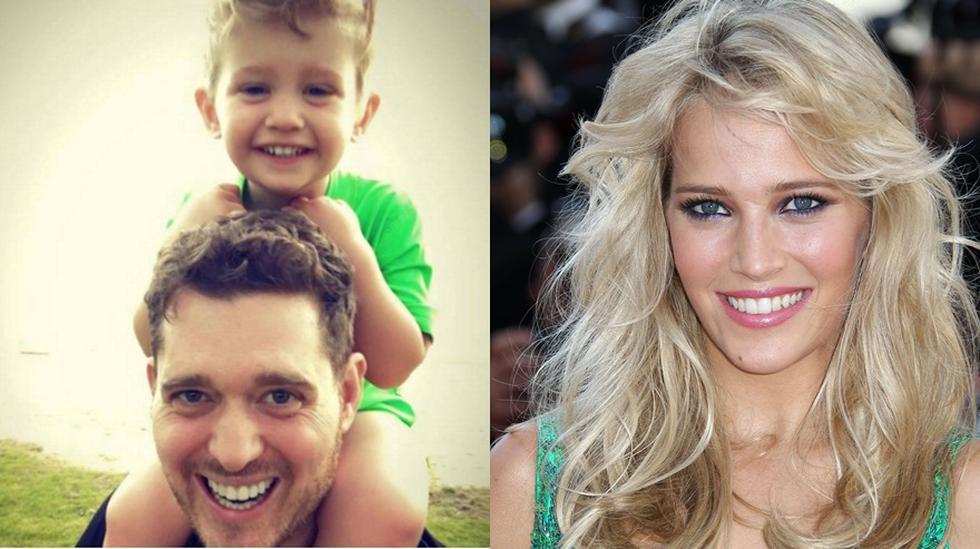 Noah Bublé, hijo de Michael Bublé y Luisana Lopilato habría superado el cáncer al hígado. (Fotos: Instagram)