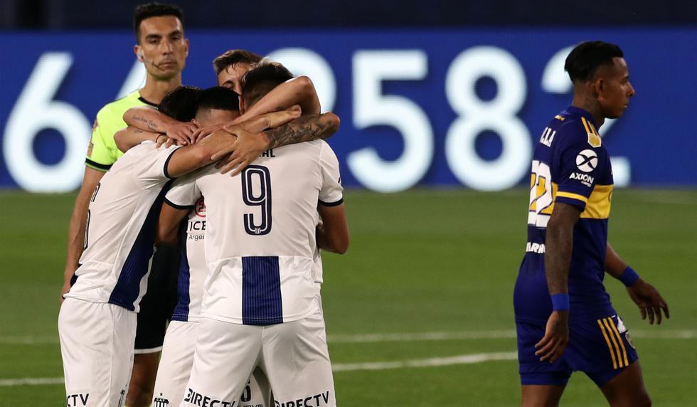 Boca Juniors vs. Talleres: las imágenes del partido por la Copa de la Liga Profesional de Argentina   Foto: AFP